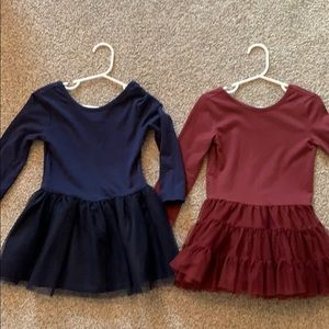 2 old navy tulle dresses 2t